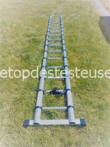 Le top des testeuses Echelle Télescopique, ou comment passer d'une échelle de 91cm à 5m :) Outillage