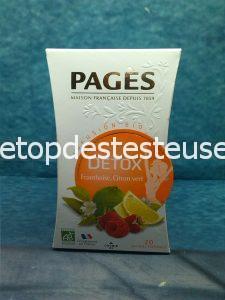 Le top des testeuses Pagès Thé et Infusion, l'infusion Détox à goûter !!! Epicerie