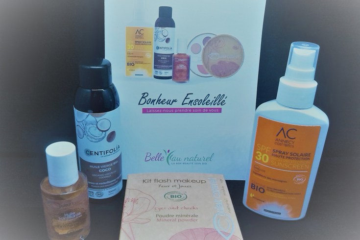 Le top des testeuses Belle au Naturel, la Box 100% Bio Belle au Naturel Les Box Uncategorized
