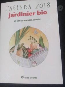 L'agenda du jardinier bio 2018