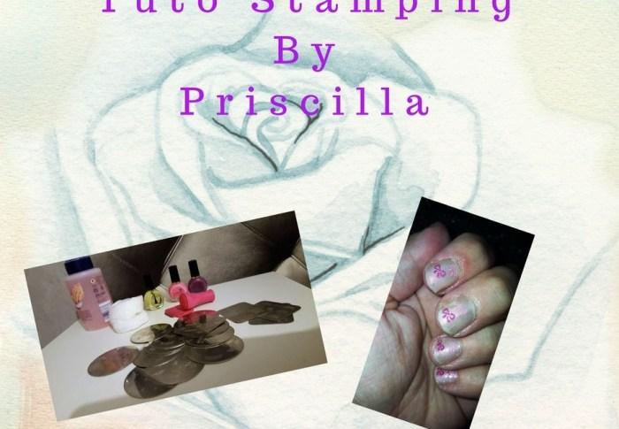 Tuto Stamping présenté par Priscilla