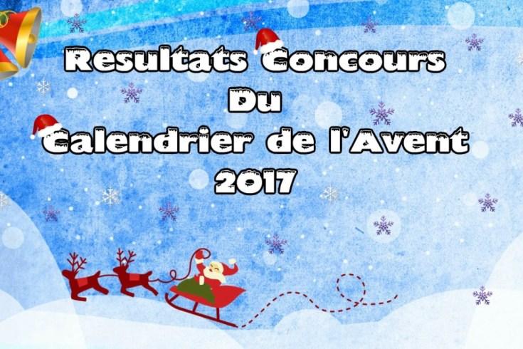 Le top des testeuses Résultats Concours Calendrier de l'Avent 2017 Concours Résultats Calendrier de l'Avent 2017
