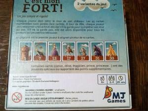 Le top des testeuses C'est mon Fort, Apprendre en s'amusant !!! Jeux de Société MJ Games