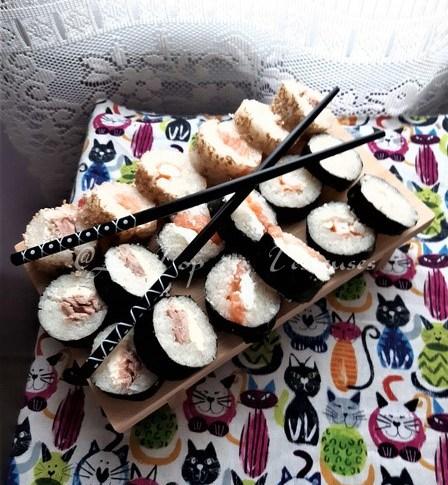 Maryse a teste Hiroshi-Sushi !!