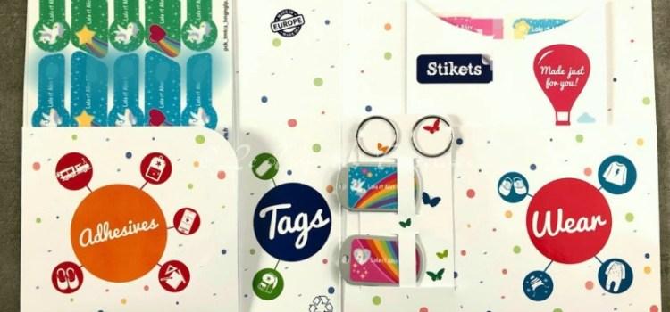 Vous avez besoin d'étiquettes personnalisées pensez Stikets !!