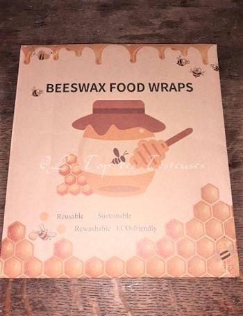 emballages alimentaires à la cire d'abeille