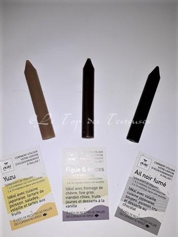 Connaissez-vous les crayons d'assaisonnement à tailler OCNY Factory ?