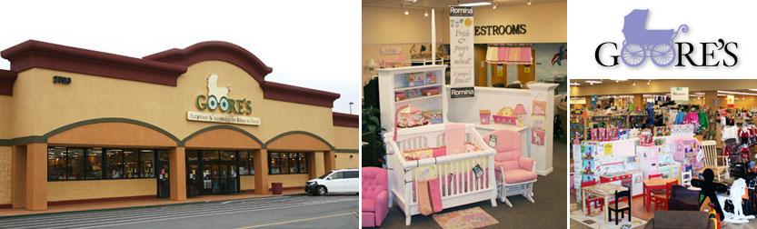 Goore's Babies to Teens store in Sacramento, CA