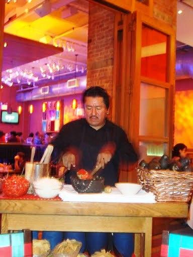 Table-Side Guacamole Maker
