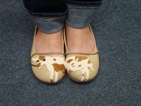 Sarah's shoes