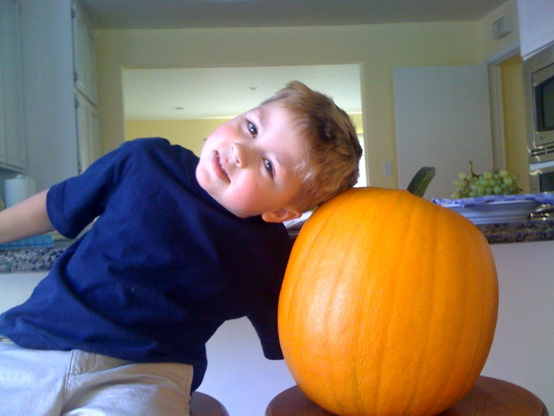 Otto and this Halloween's Great Pumpkin