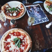 6. Olio e Piú. If you're craving delicious crust and prosecco you need to stop by the West Village and visit this restaurant. With an ambiance straight out of Italy, you'll love sipping away on bubbly and gabbing over paninis.