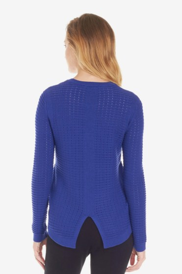 Ava Noella Mesh Sweater