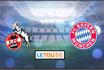 Soi kèo FC Koln - Bayern Munchen 21h30' 16/02/2020