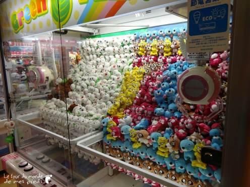 Machines à pinces Japon
