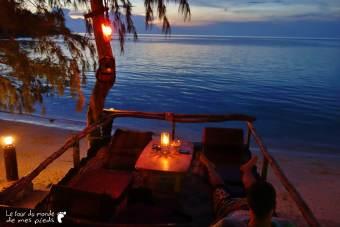 Restaurant plage Koh Phangan