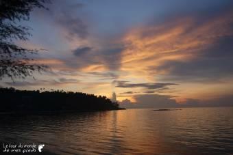 coucher soleil Koh Phangan