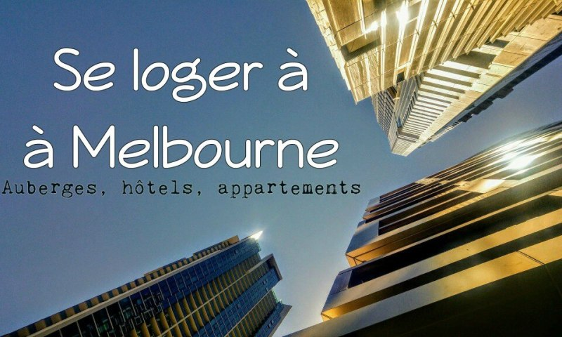 Logement Melbourne couverture