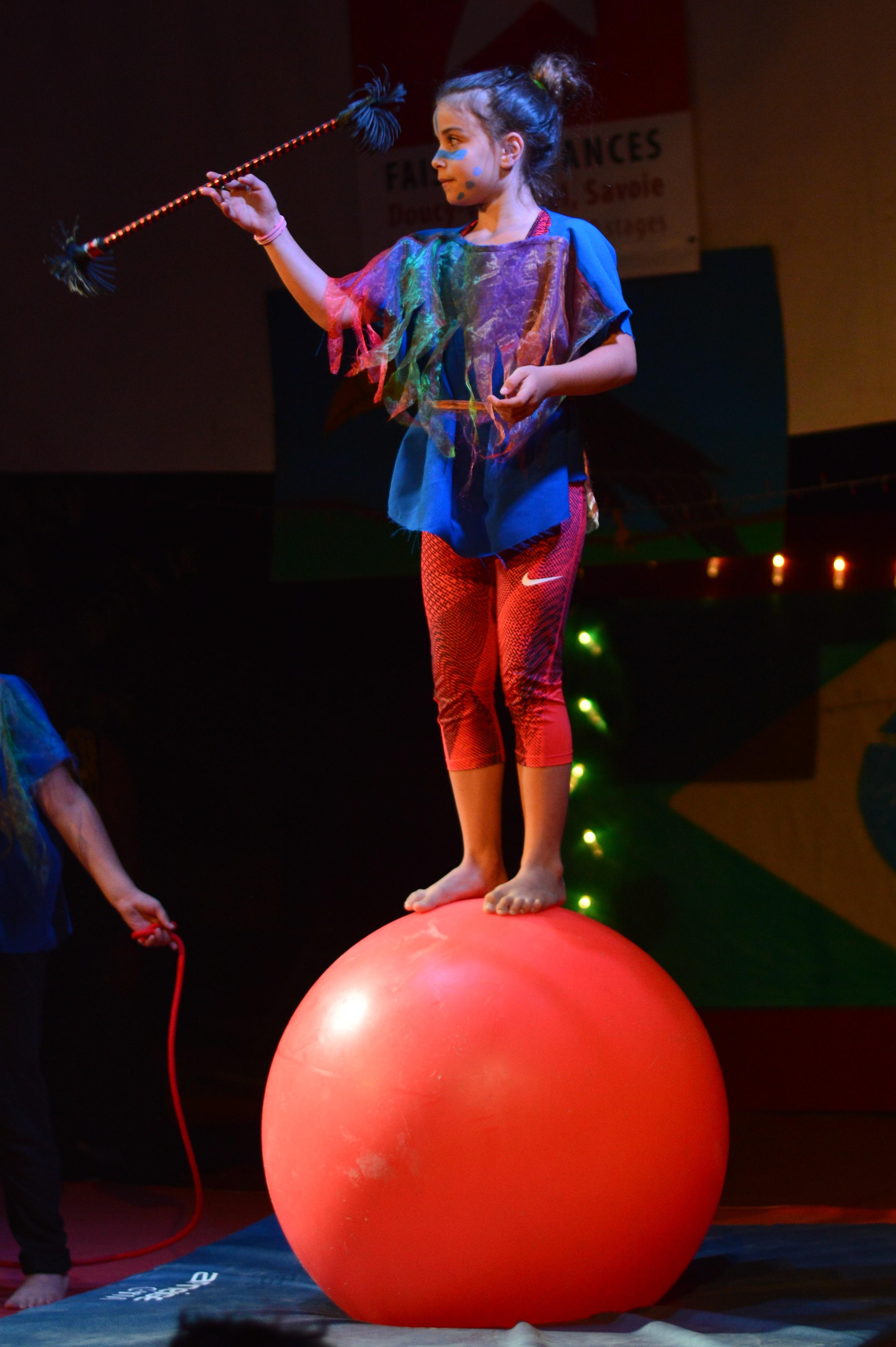 Enfants cirque