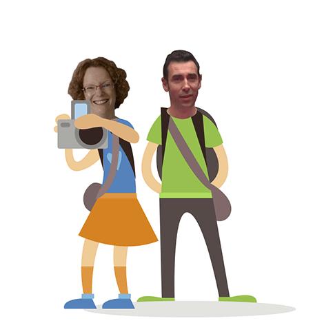 Isabelle MISCHLER et Laurent LAIDAOUI