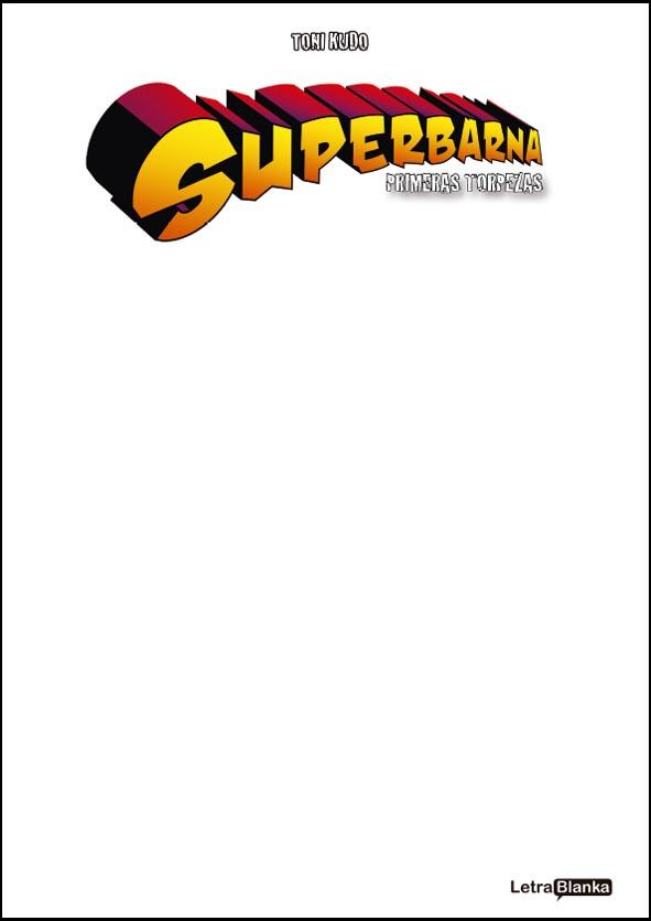 Superbarna: primeras torpezas (blank cover)