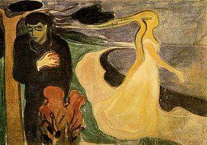 """""""Separación"""", de Edvard Munch"""