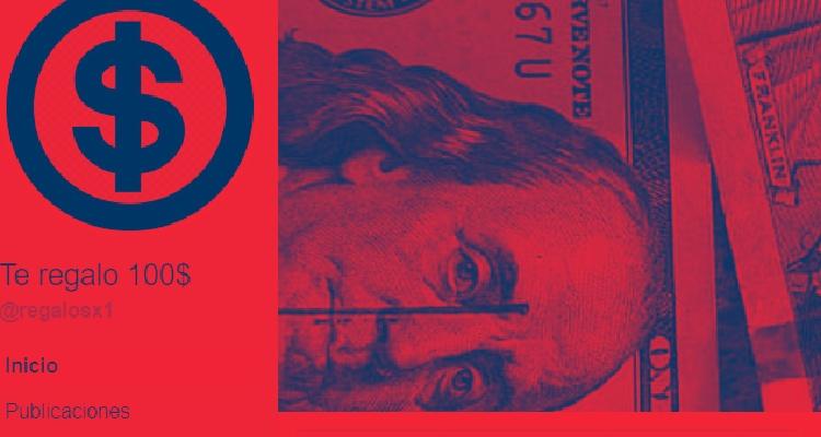 ¡Alerta! La estafa de los 100 dólares en Facebook - Letra Roja