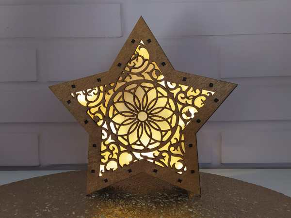 Lámpara decorativa Led MANDALA