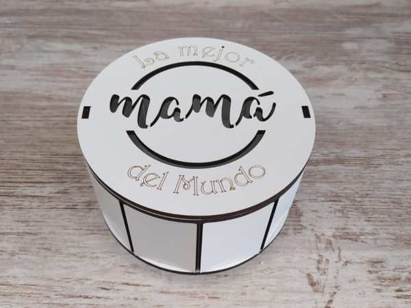 Caja porta bombones / joyero día de la madre