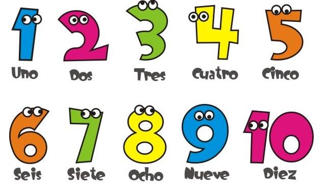 Μάθε τα νούμερα στα Ισπανικά
