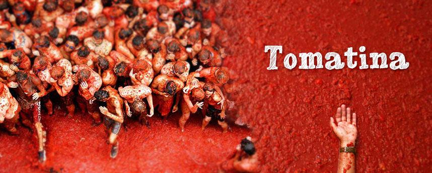 La Tomatina | Ισπανικές γιορτές