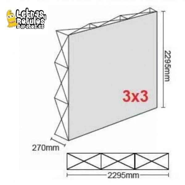 Pop Up 3x3 (230x230cm)