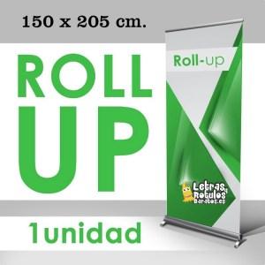 Roll up 150 x 205 cm.