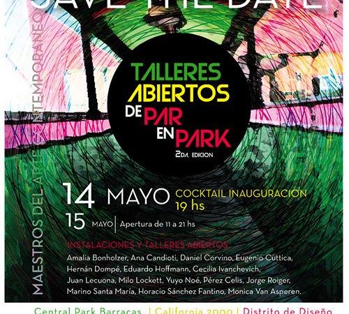 De Park en Park, Talleres Abiertos | Letra Urbana