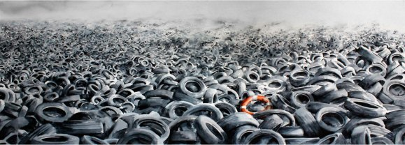 Heavy Sea - Una mezcla simple de dirección de arte y el flagelo de los desechos humanos