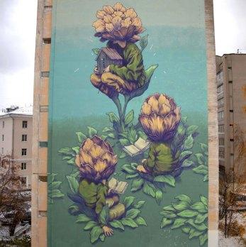 Blossom Nizhniy Novgorod in Russia