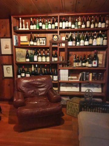 Decor inside the Failla tasting room in Napa California