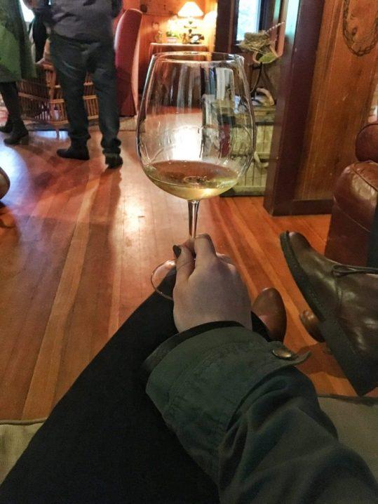 First tasting at Failla winery in Napa California