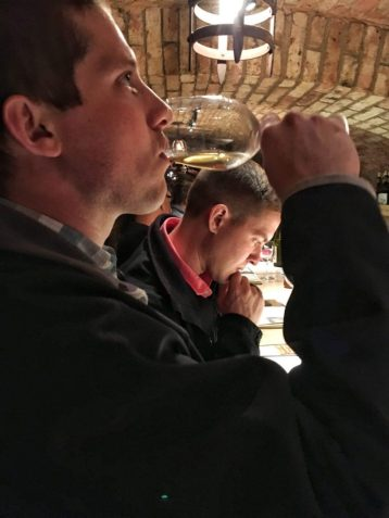 Wine tasting at Castello di Amorosa in Napa California