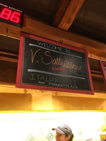 V Sattui Winery in Napa California