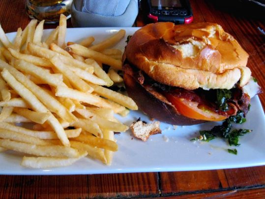 BLT at Crescent City Brewhouse in New Orleans