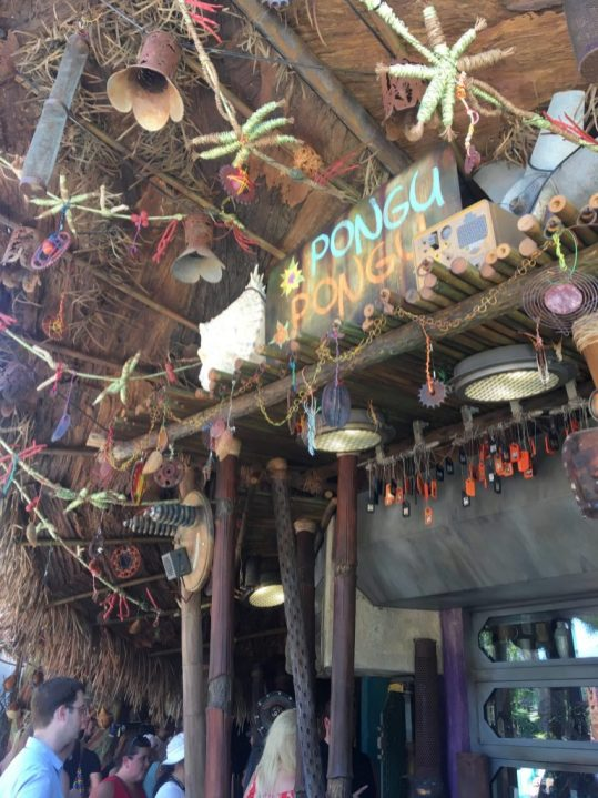 Drinks from Pongu Pongu at Disney's Pandora: World of Avatar