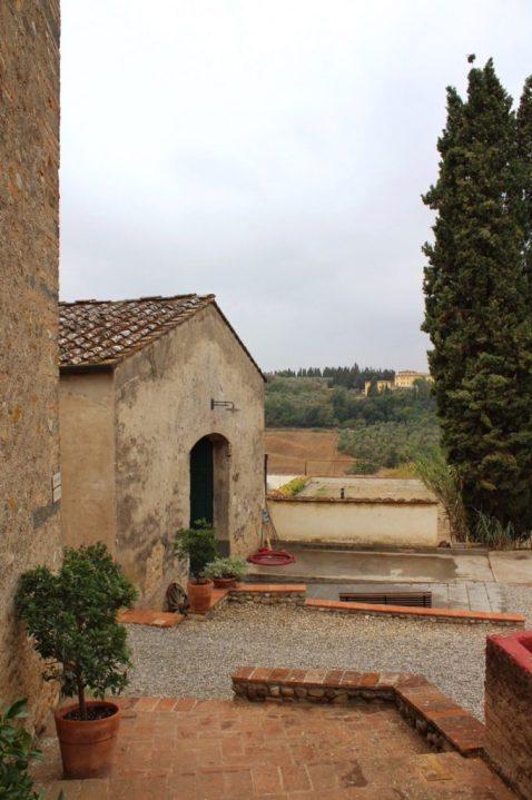 Grounds of Corzano E Paterno in Chianti Italy