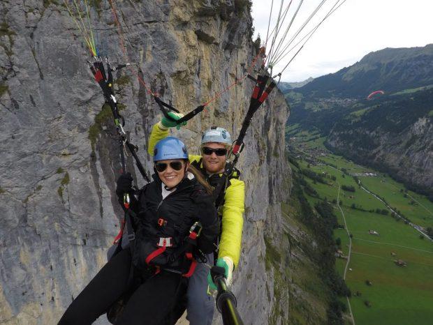 Paragliding in Switzerland