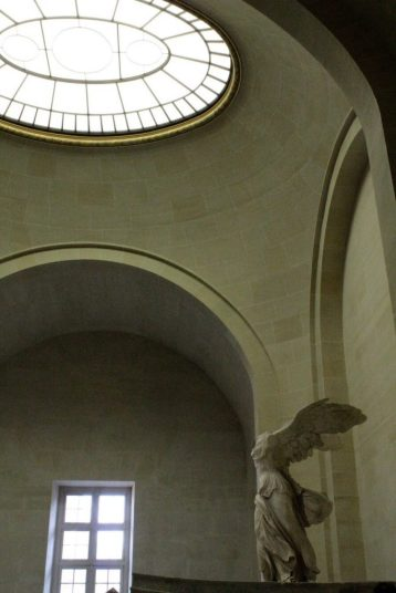 Winged Entry at the Louvre Museum in Paris France
