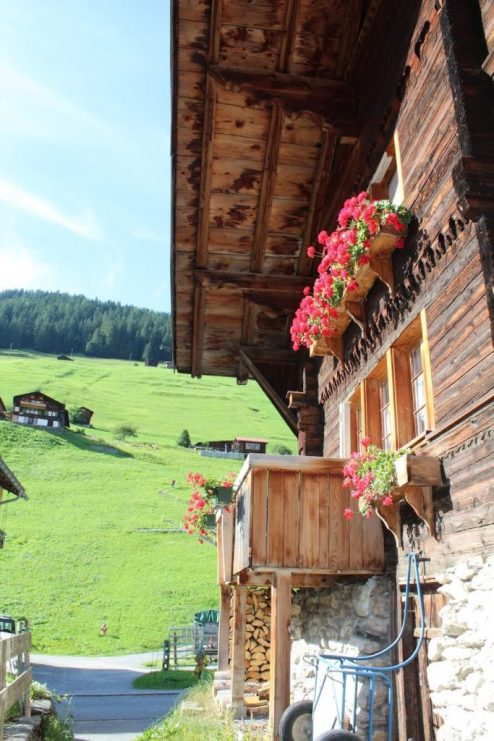 A Swiss home in Gimmelwald Switzerland