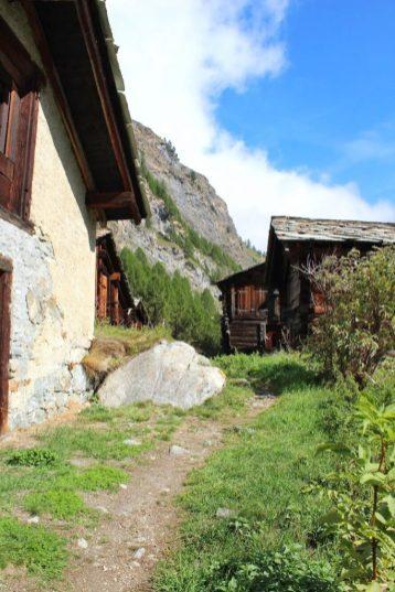 Trail above Zermatt, Switzerland