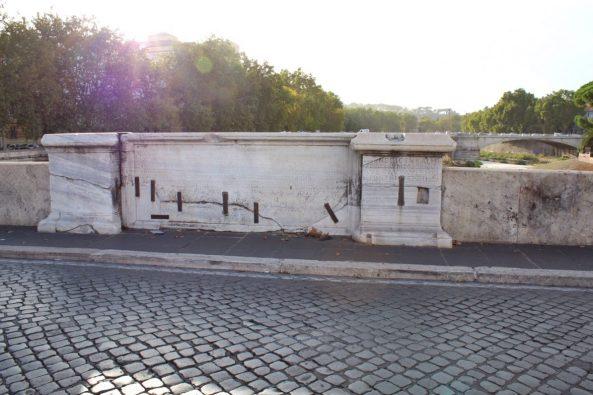 Pons Cestius Bridge in Rome Italy