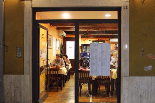 Sora Lucia Restaurant in Rome Italy