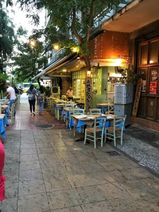 Ambrosia Athens Greece
